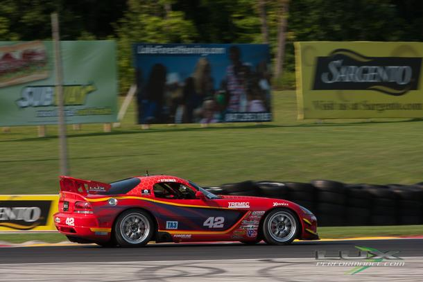 Lux Performance Looking For a Brake at Road America